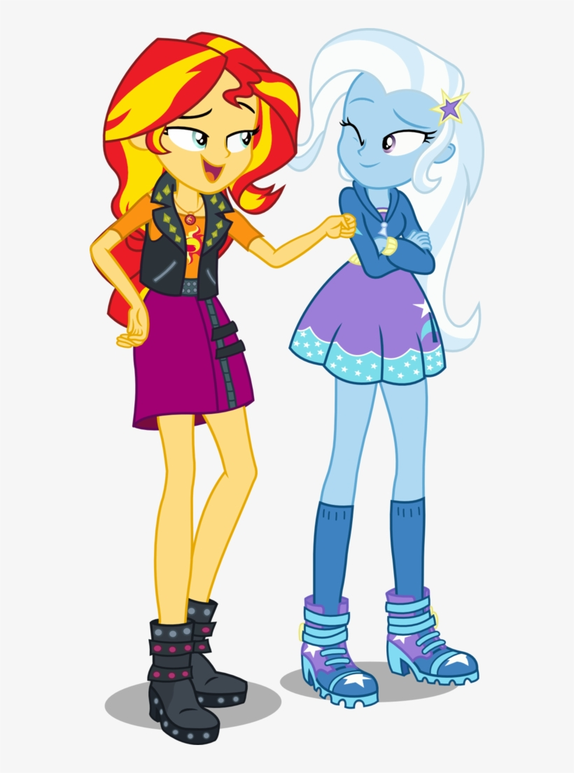 Heels Clipart Diva Shoe - Trixie My Little Pony Equestria Girl, transparent png #10068431