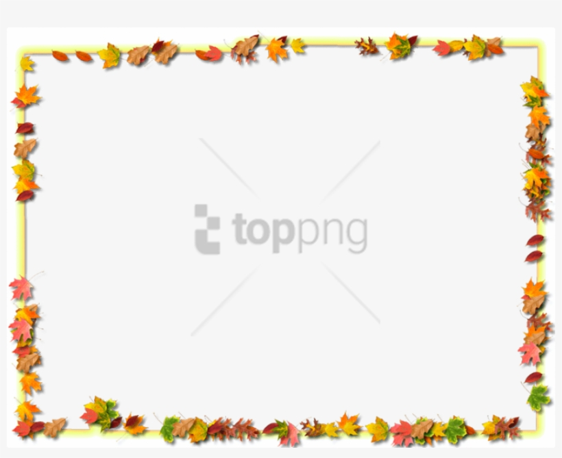 Free Png Download Transparent Fall Frames Png Images - Transparent Food Border Png, transparent png #10068981