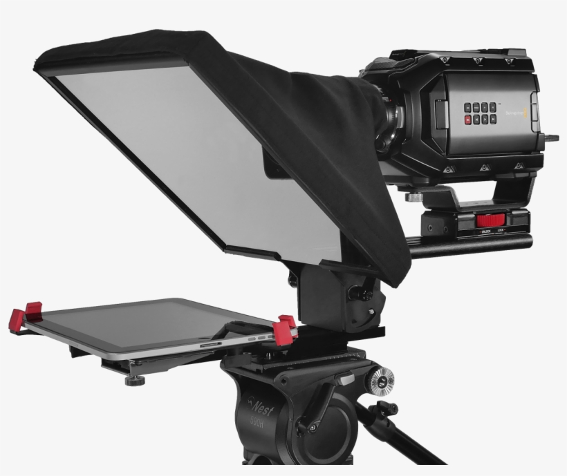 Teleprompter All Kinds All Budgets Prompter People - Video Camera, transparent png #10068984