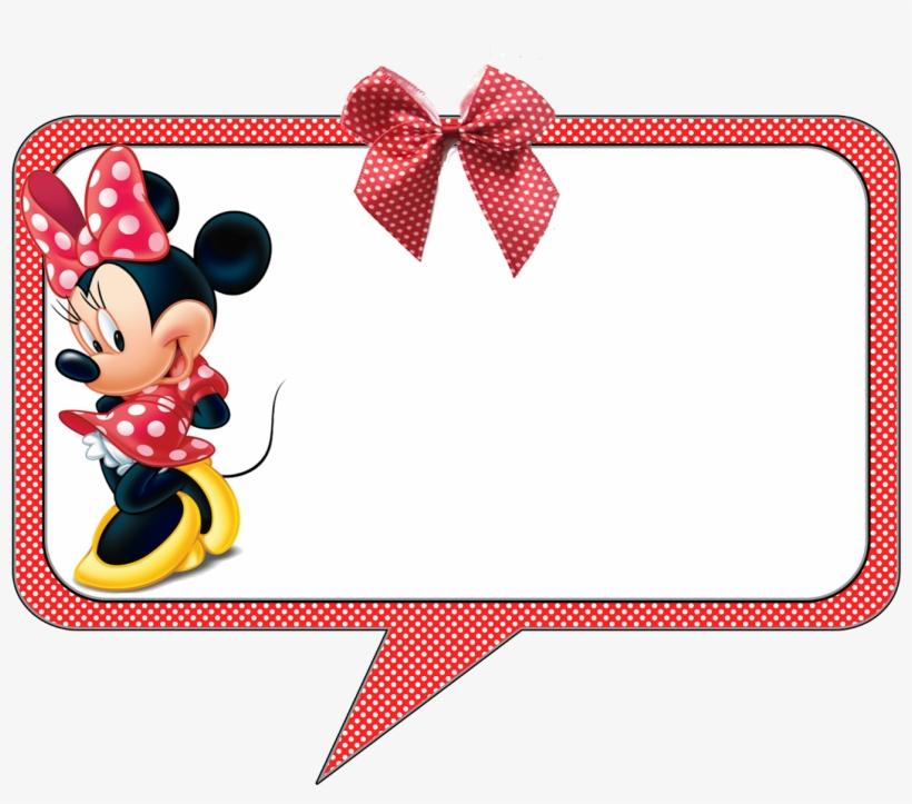 Convite Minnie Vermelha Festa Minnie Vermelha Moldura