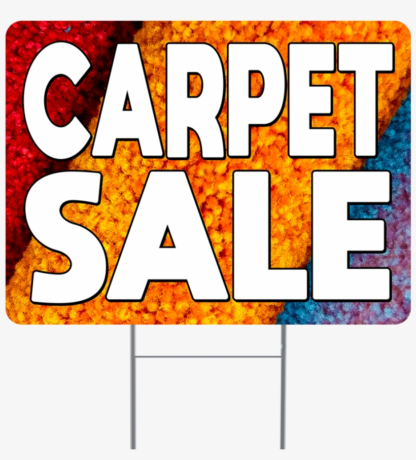 Carpet Sale Double Sided Yard Sign - Parallel, transparent png #10070700