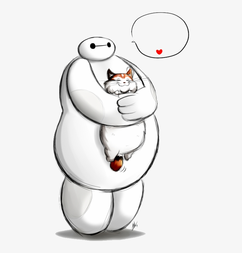 2 Baymax Hairy Baby - Hairy Baby Baymax, transparent png #10072761