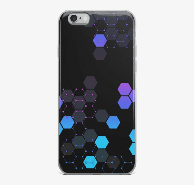 Protect // Hex Grid Iphone Case - Mobile Phone Case, transparent png #10072974