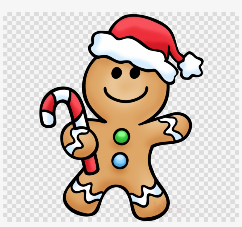 Download Gingerbread Man Clipart Gingerbread House - Christmas Gingerbread Man Colouring Pages, transparent png #10074350