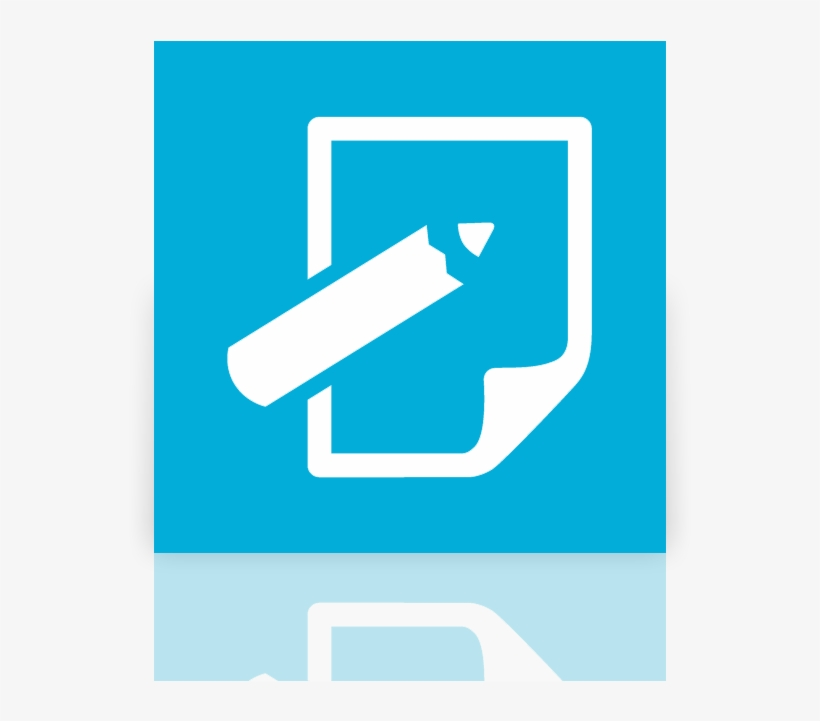 Mirror, Notepad Icon - Notepad Icon Windows 10, transparent png #10075182