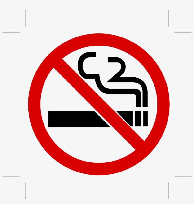 No Smoking Cigarettes Fume Smoke Png Image - No Smoking Sign In Public, transparent png #10075639