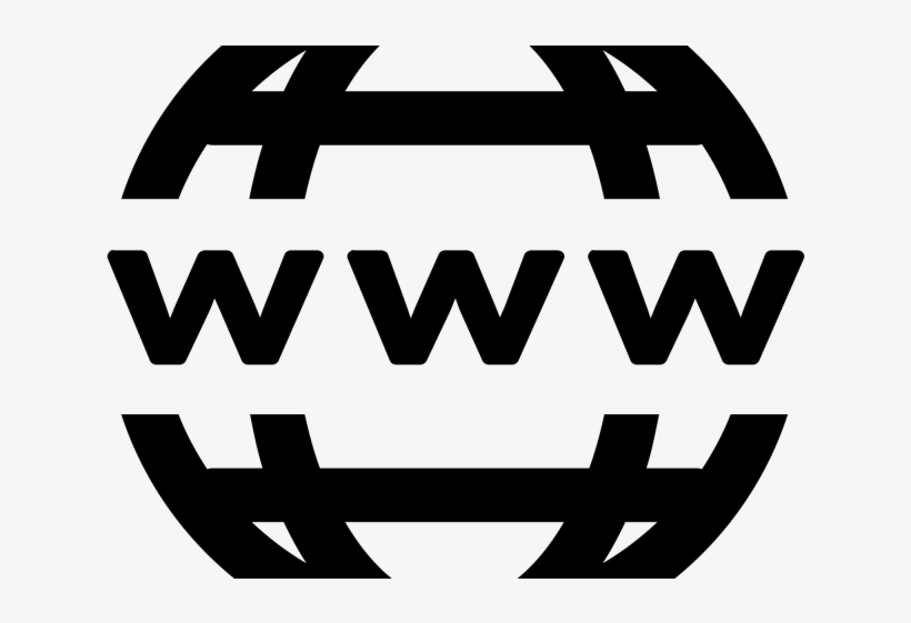 World Wide Web Clipart Website Symbol - World Wide Web Is Publicly Debuted, transparent png #10076813