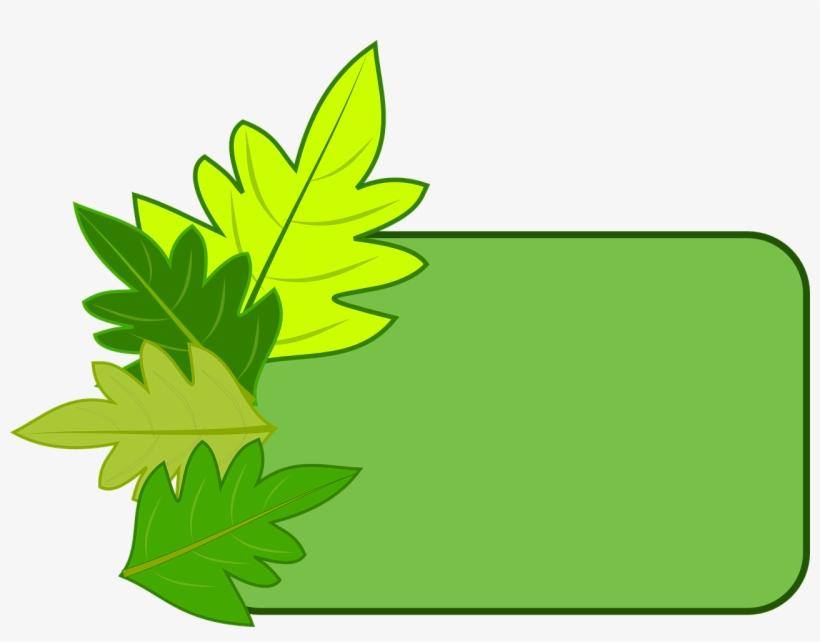 Frame Leaves Nature Border Png Image - Bingkai Alam, transparent png #10077407
