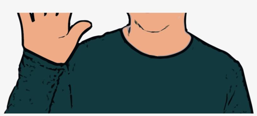British Sign Language - British Sign Language Stop, transparent png #10078602