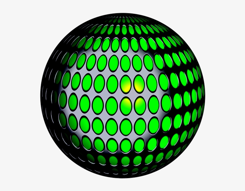 Light Ball Flare Ball With Light Png Image - Bolas De Luces Png, transparent png #10079060