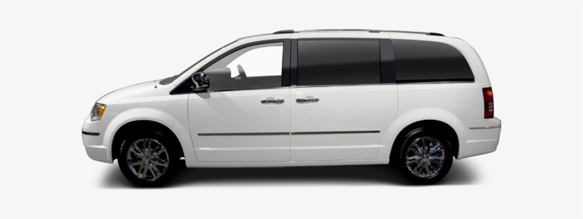 Pre-owned 2010 Chrysler Town & Country Touring Minivan - Dodge Durango Side View, transparent png #10080132