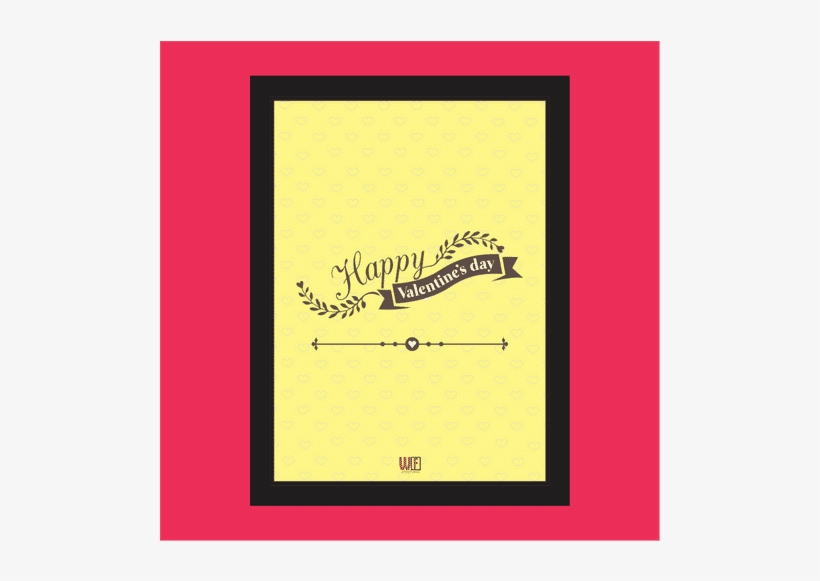 Happy Valentines Day Photo Frame 1489761375lym Main - Caterpillar, transparent png #10081199