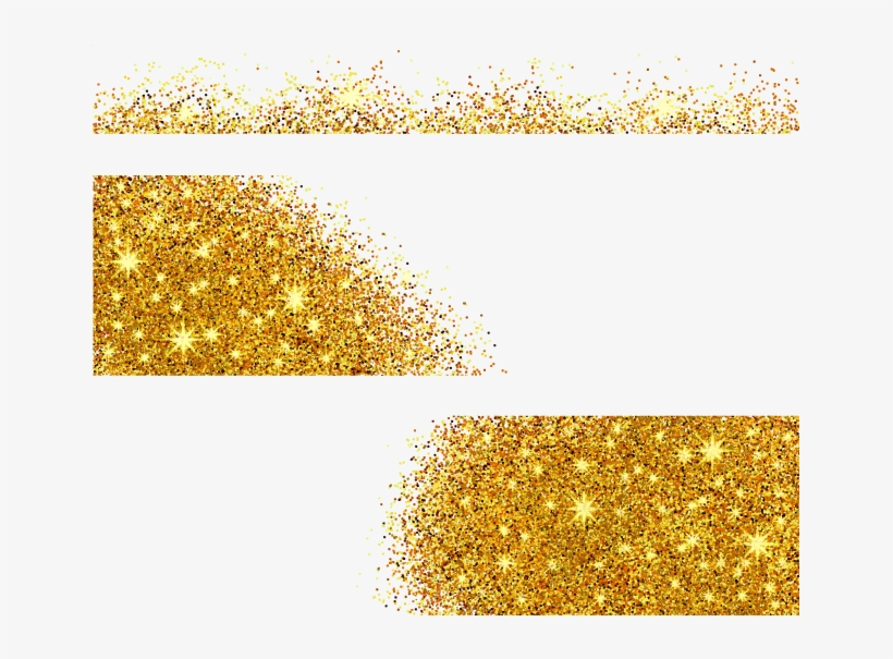 Vector Glitter Sequins Gold Png File Hd Clipart - Vector Graphics, transparent png #10085877