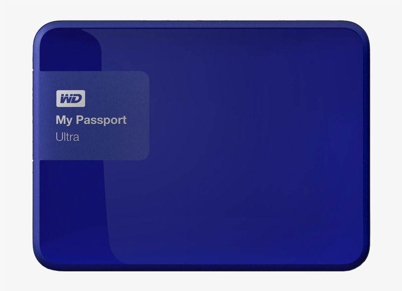 Zoom - Wd My Passport Ultra Blue, transparent png #10090099