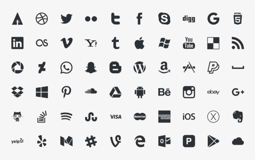 Social Media Icons Free Download - Logo Social Media Vector Png, transparent png #10090612