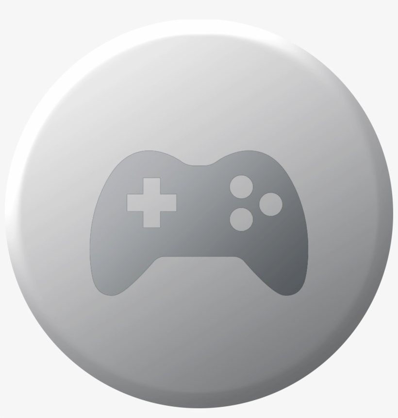 Icon - Grey Games Folder Icon, transparent png #10091703