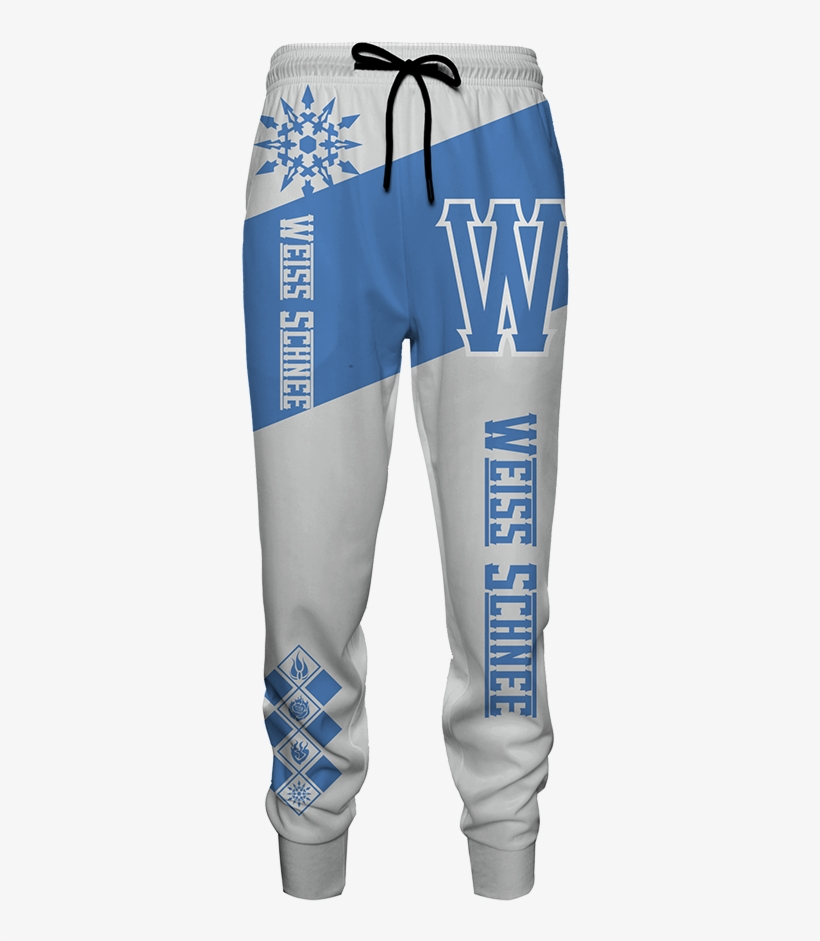 Rwby Weiss Schnee Jogging Pants Fullprinted Jogging - Pocket, transparent png #10091999
