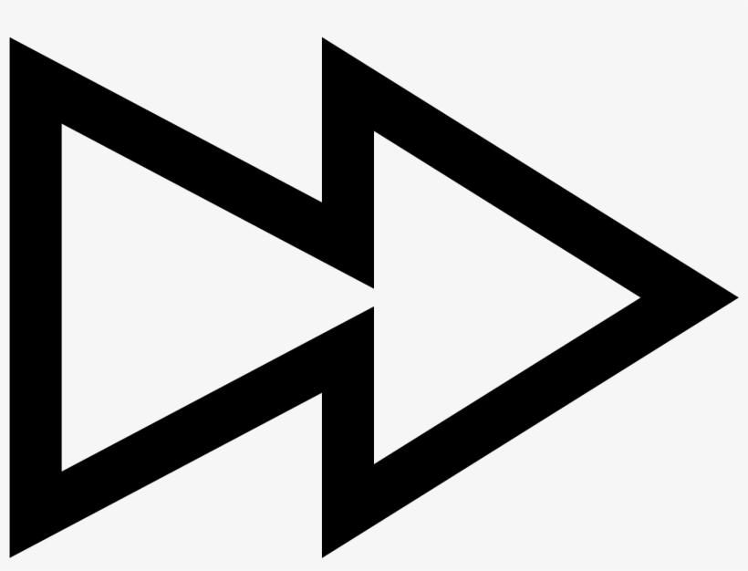 빨리 감기 Icon - Fast Forward Symbol Png, transparent png #10092662
