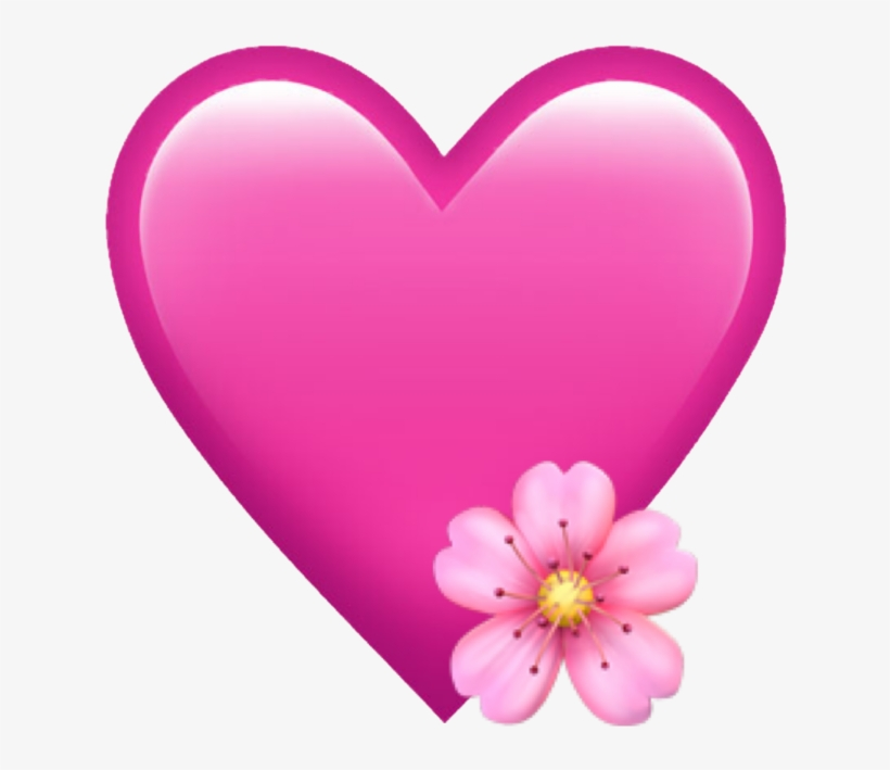Popular And Trending Emoji😀freetoedit Stickers On - Heart, transparent png #10095953