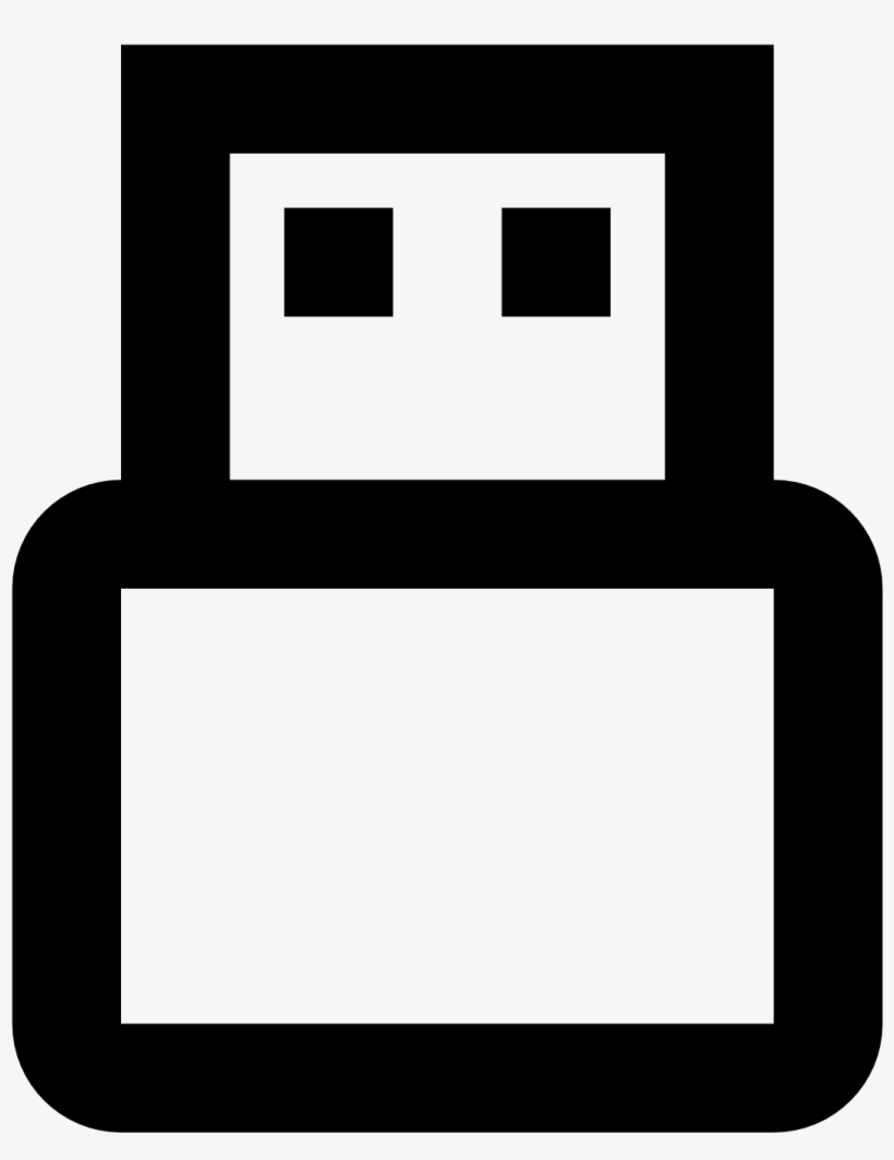 Usb Off Icon - Red Usb Drive Icon, transparent png #10096569