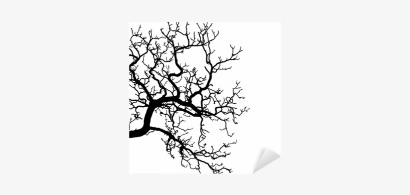 Vector Of A Tree Silhouette Illustration Sticker • - Independence Day Images With Magic, transparent png #1011130