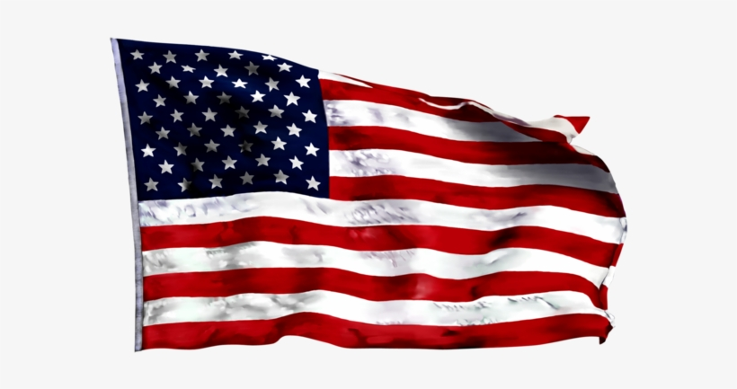 American Flag Waving Png Graphic Freeuse - Usa Flag Waving Png, transparent png #1011297