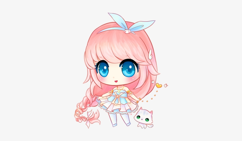 Симпатичные Чибики - Girl Anime Chibi Drawing Cute, transparent png #1011799