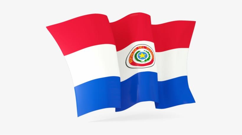 Waving Flag Of Paraguay - Croatia Flag Waving Png, transparent png #1011903