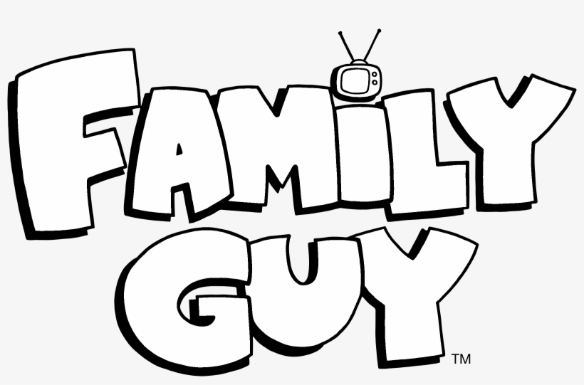 Family Guy Logo Black And White - 100 Ways To Kill Lois [book], transparent png #1013136