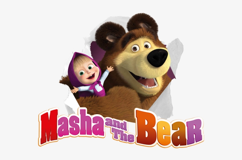 Masha And The Bear Masha And Bear Png Free Transparent