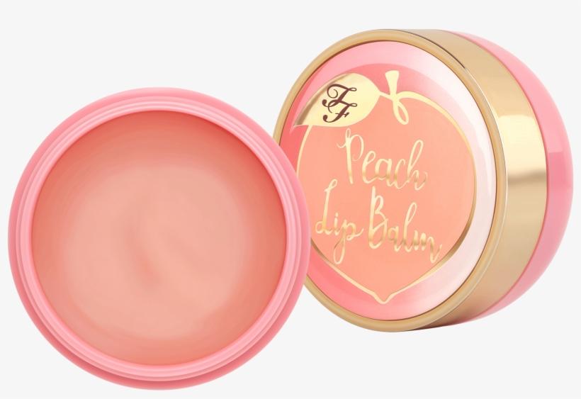 Peaches - Too Faced Peach Lip Balm, transparent png #1015467
