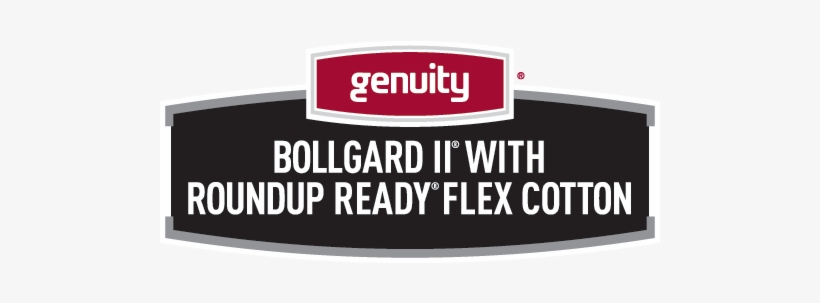 Genuity Bollgard Ii With Roundup Ready Flex Cotton - Roundup Ready, transparent png #1016924