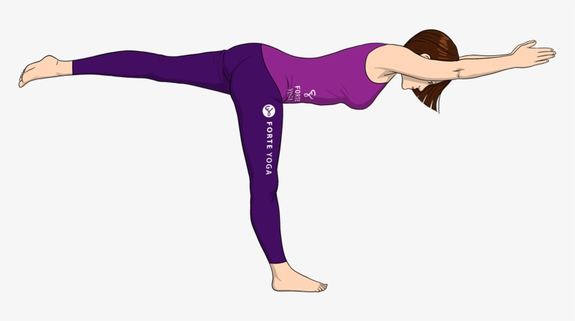 Yoga Pose Png Download Yoga Poses Warrior 3 Draw Free Transparent Png Download Pngkey