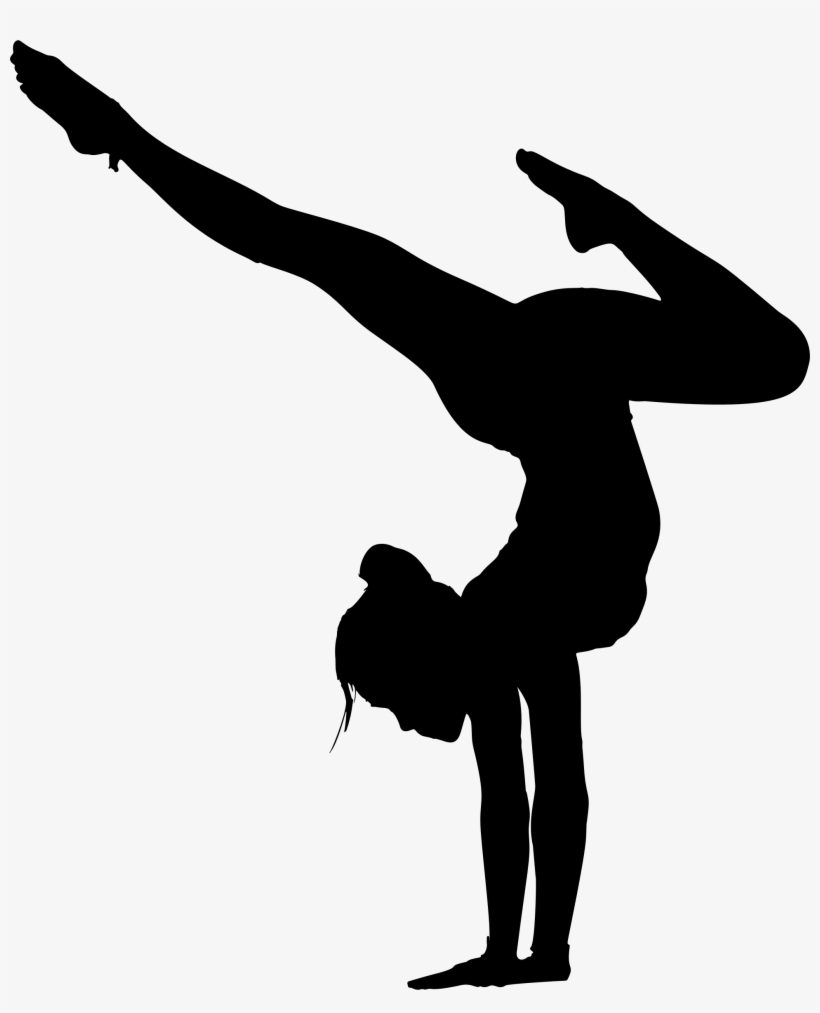 This Free Icons Png Design Of Female Yoga Pose Silhouette Free Transparent Png Download Pngkey