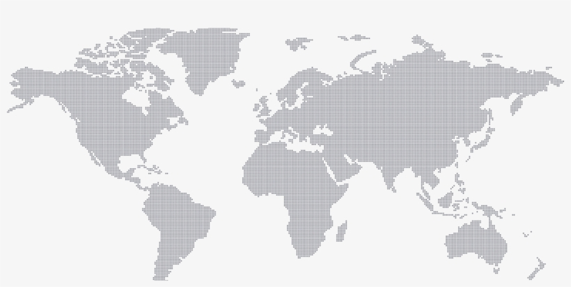 World-map - World Map Icon Vector, transparent png #1019478