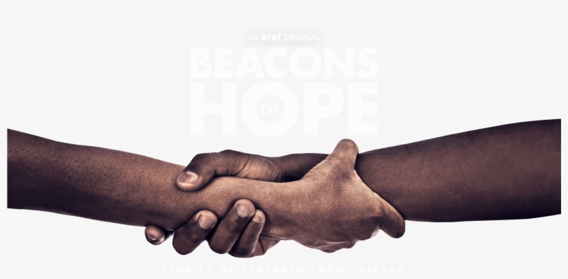 Beacons Of Hope Premieres On At&t's Audience Network - Holding Hands, transparent png #10101164