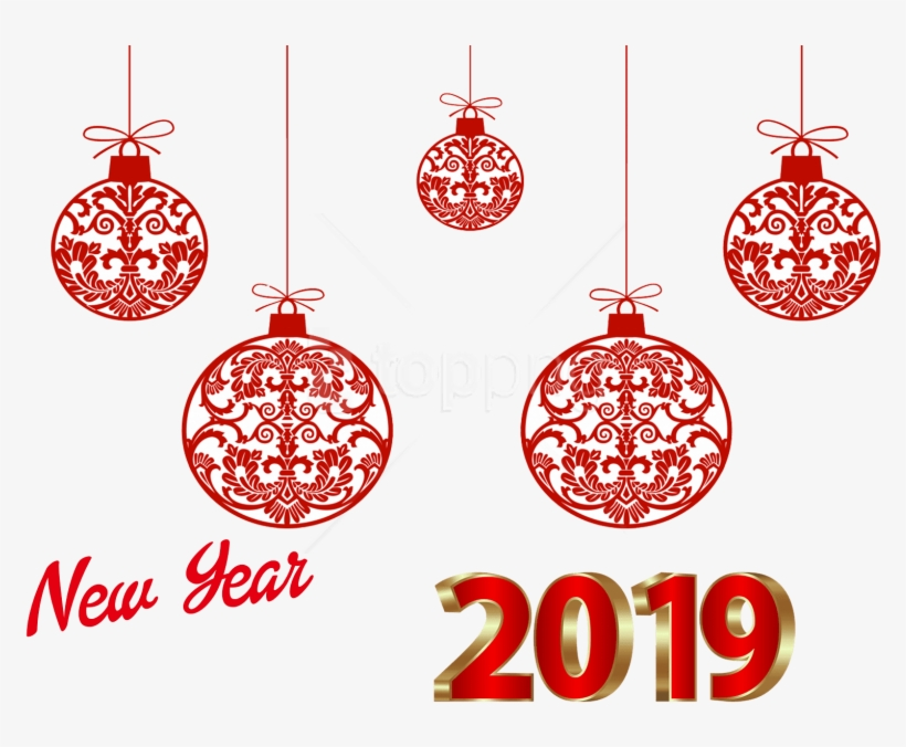Free Png New Year 2019 Png Images Transparent - New Year 2019 Png Background, transparent png #10101424