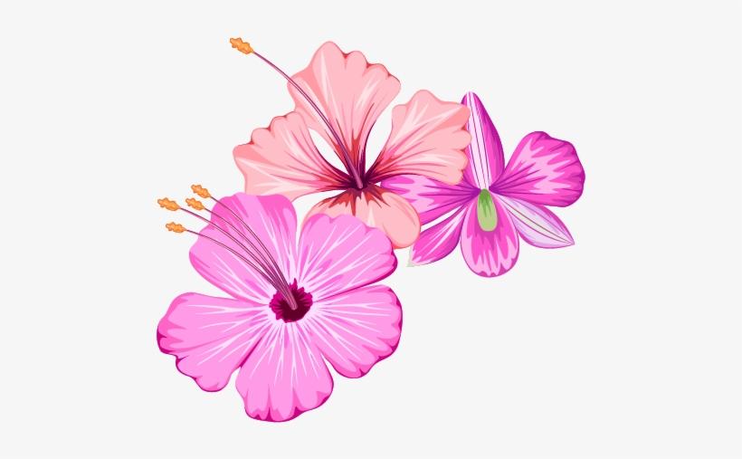 Small Fresh Flowers Flower Summer Free Transparent - Summer Flower Png, transparent png #10102852
