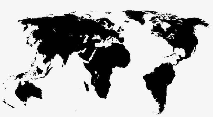 Black World Map Hd Wallpaper - World Map Vector Svg - Free ...