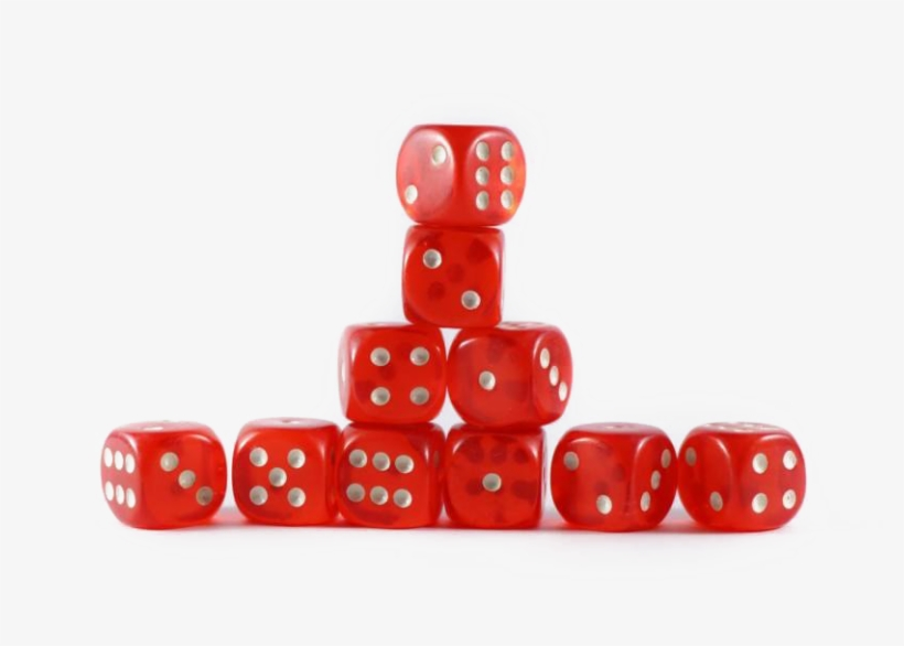 Red Dice Png Free Image - Dice Game, transparent png #10112214