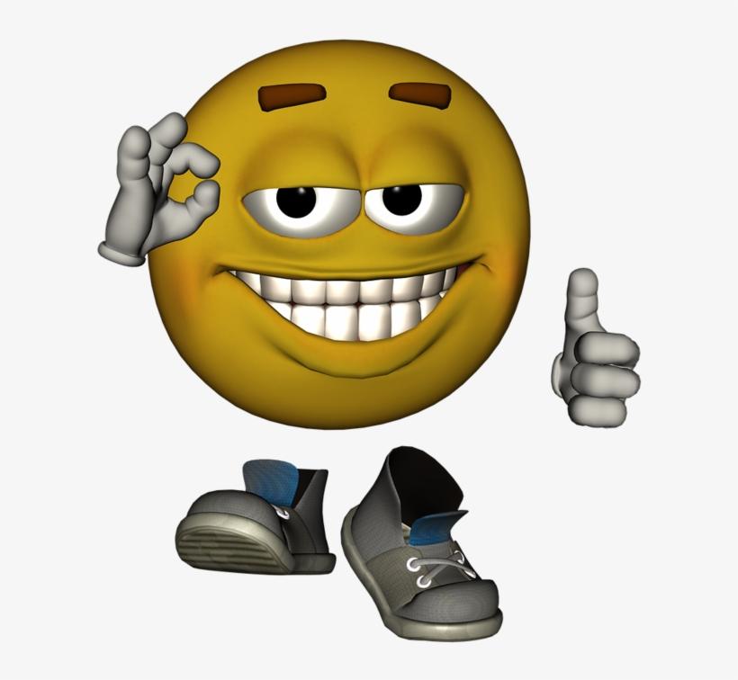 Emotiguy Thoughtful Face - Thumbs Up Emoji Face, transparent png #10115616