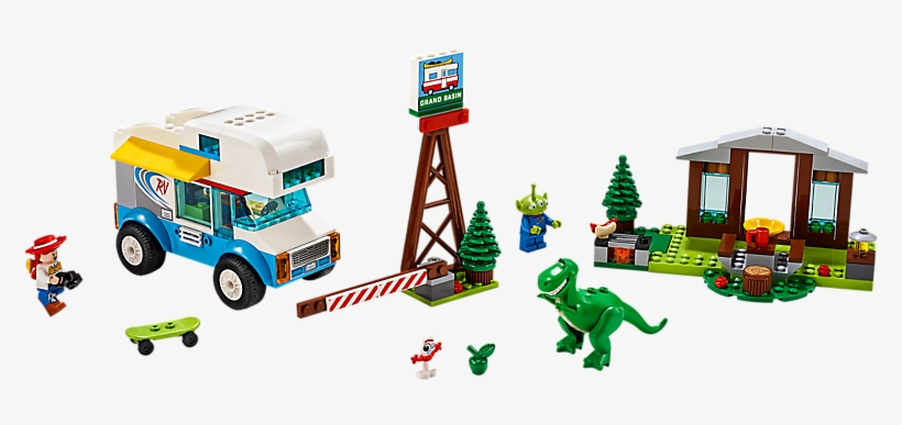 Toy Story 4 Rv Vacation - Lego Toy Story 4 Sets, transparent png #10116198
