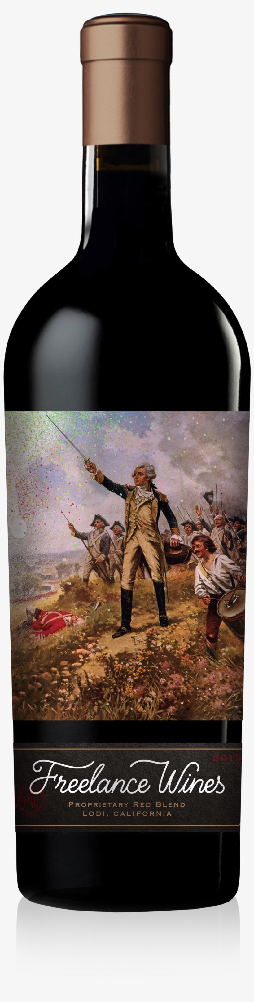 Coup De Grace 2015 Hero Shot Front - Wine Bottle, transparent png #10116200