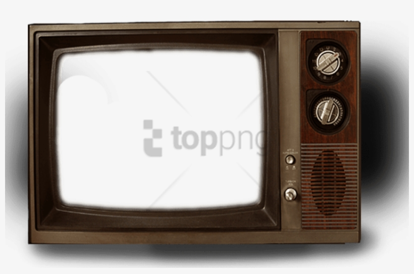 Free Png Download Old Television Transparent Png Images - Old Tv Frame Png, transparent png #10121914