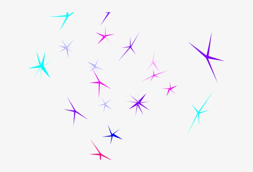 Magical Clipart Purple Sparkles - Sparkle Clip Art, transparent png #10122651