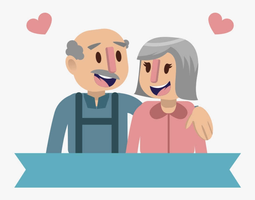 Icon Elderly Couple Transprent Png Free Download Casal Idoso