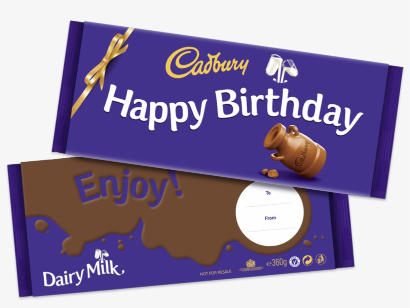 Beautiful Birthday Gift Images 1829828 Pictures - Happy Birthday Cadbury Chocolate, transparent png #10124529