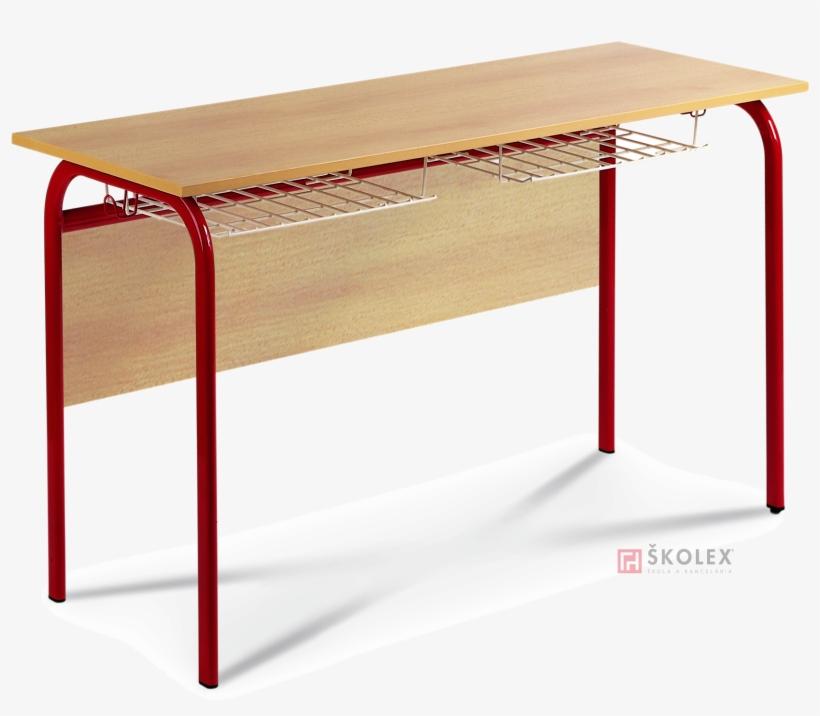 Školský Stôl Uno School Desk Uno - Coffee Table, transparent png #10125117