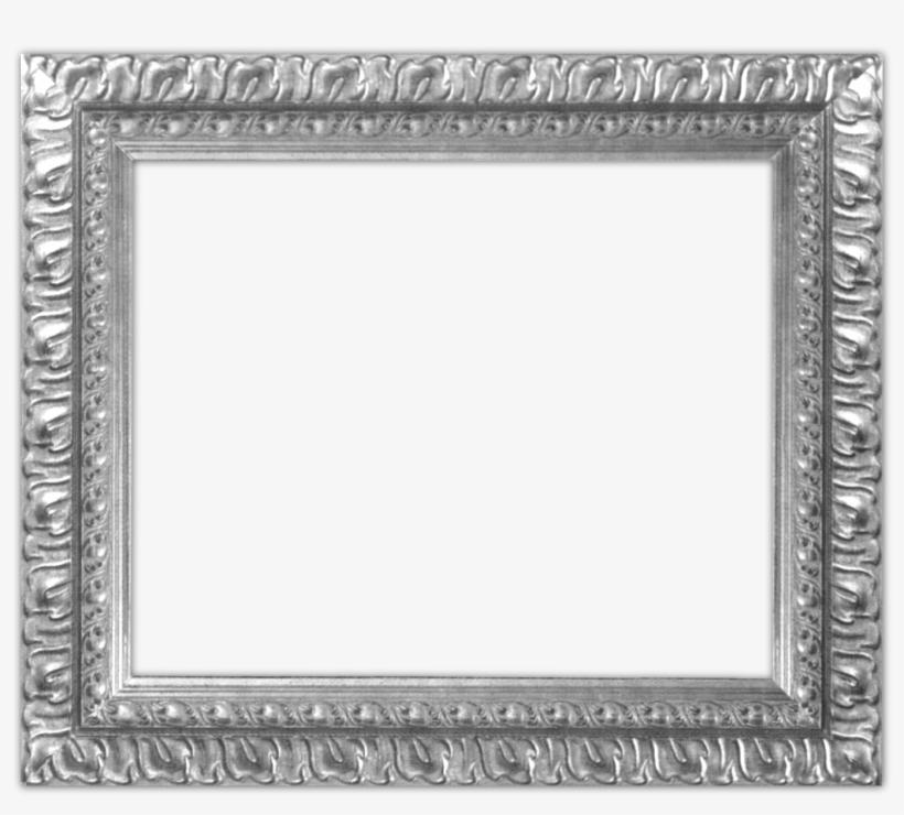Digital Scrapbooking Frames Graphics - Silver Picture Frames Png, transparent png #1020445