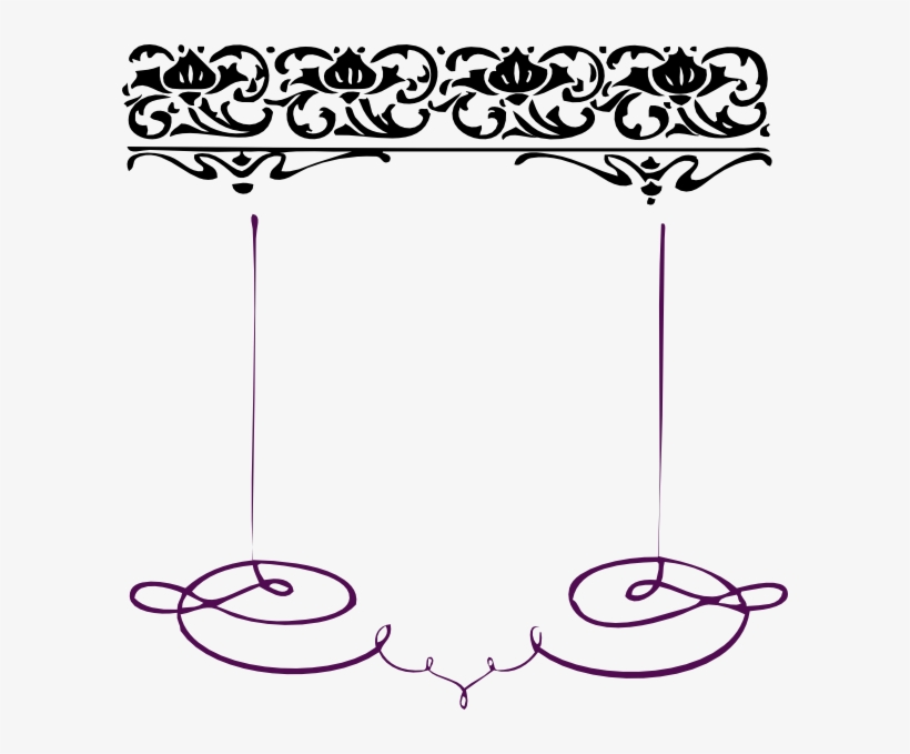 0dffaf230a Swirl Line Clip Art At Clkercom Vector Online Royalty - Borders And Frames  Clip Art